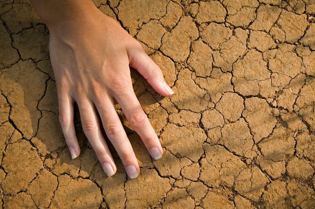 Потрескавшиеся руки