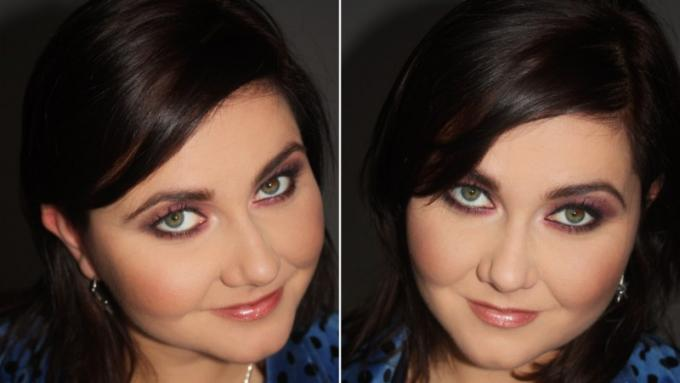 Идеальный макияж, если у вас круглое лицо