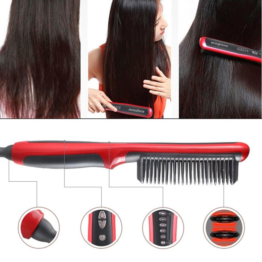 Лучше выпрямитель или щетка для выпрямления волос?